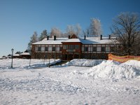 Hotel of mountain-skiing complex Logoisk